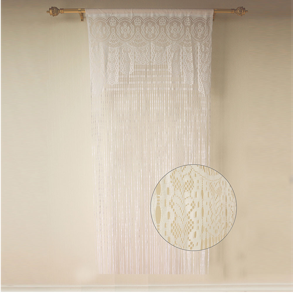 hot sale german christmas lace curtains