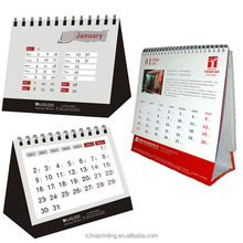 Custom table calendar/desk calendar/wall calendar printing