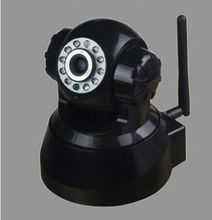 Black Wireless IP Webcam Camera Night Vision 11 LED mini WIFI Cam