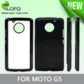 2d Hard Plastic Sublimation Phone Case Blanks for MOTO G5