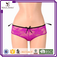 Elastic Girls Stylish Underwear Sexy Girl Silk Underwear Panties