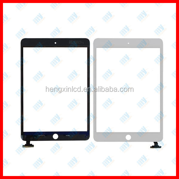 OEM order for ipad mini Touch Screen,screen digitizer for ipad mini 16gb 32gb 64gb