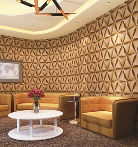 Wallpaper international wallcoverings modern 3D sound absorbing for sofa background