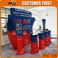 Durable And Folding Backdrop Trade Show Pop Up Display Stand