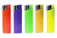 Solid colored electronic lighters