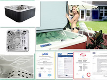 Best Free Sex USA Massage Hot Tub with Balboa Control and 62 jet surf----(S520)