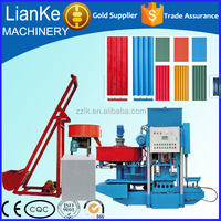 Green Making Process Concrete Color Tile Forming Machine from Henan China