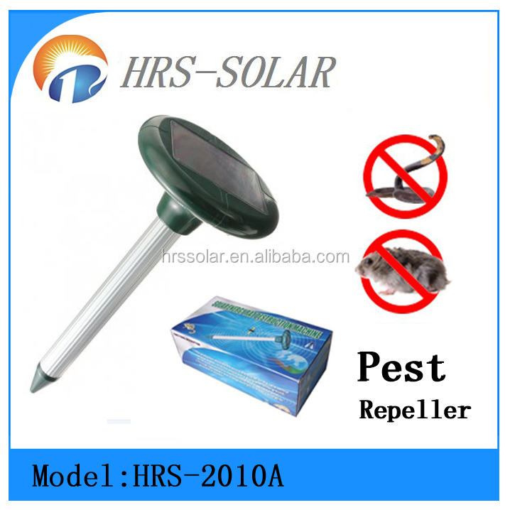 Long Time Working Garden Protection Outdoor Used Solar Mouse Mole Repeller