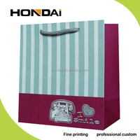 Fashion Wrapping Shopping Gift Packing Paper Bag with String