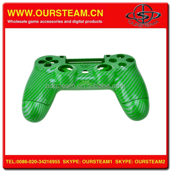 Green Carbon Fiber Controller for PS4 Wireless Controller