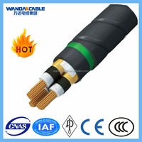 0.6/1KV 120mm2 Copper conductor Single Core XLPE Insulated and PVC sheathed power cables