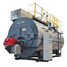 1.25 Mpa horizontal 2 ton heavy oil fired steam boiler for garment factory