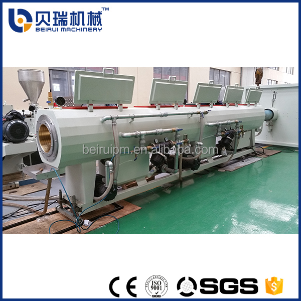 Big diameter pvc water draining supply pipe extrusion making machine