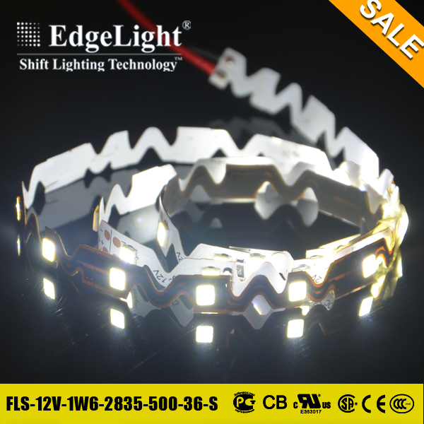 Edgelight New style bendable flexible strip light led for clothes good price for promotion
