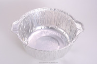 round/oval aluminum foil container/tin food cup/smooth/egg tarts/cake/baking