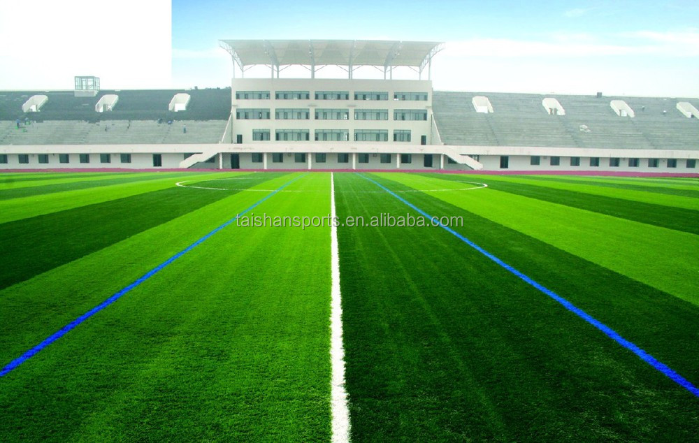 60mm artificial grass for football playground