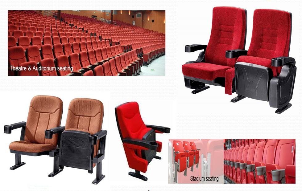 Auditorium Chairs / Cinema Hall chairs