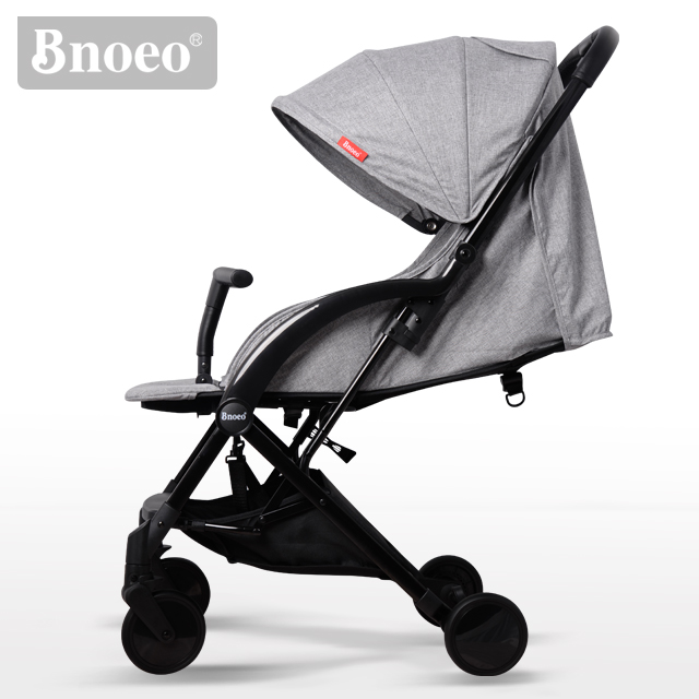 BNOEO Light Grey <strong>C101</strong> Ultra Lightweight Folding Baby Stroller Suit For Airplane