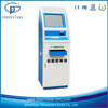 medical/hospital laboratory sheet report print machine/kiosk with barcode reader/card reader