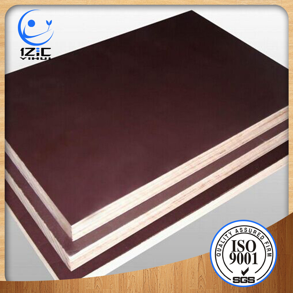 18mm black brown phenolic film faced plywood shuttering. Black Bedroom Furniture Sets. Home Design Ideas