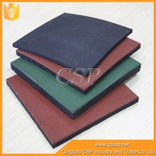 Manufacturer of high quality color deck rubber gym mat