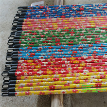 120*2.2cm wooden broom stick for bathroom floor cleaning brush