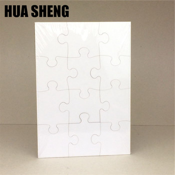 laser cutting blank dye sublimation jigsaw mdf puzzle