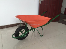 metal tray wheelbarrow with pneuamtic wheel /barrow wb6400