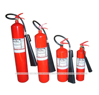 Empty Fire Extinguisher CO2 Gas Cylinder