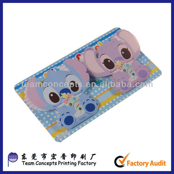 Wholesale custom letter shaped removable sticky notes for Buy letter shaped sticky notes