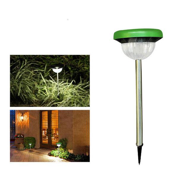 2018 New Product Stainless Steel Bracket LED Solar Lamp Garden Decoration Courtyard Park Solar Light Outdoor Garden