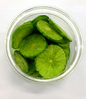 NEW PRODUCT 100% natural VF dried green radish crisps with healthy food and nice taste for sale