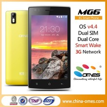 Hot selling OEM MG6 5.0 inch android 4.2 mtk6599 cell phone