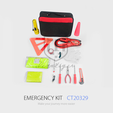 Printing Logo Emergncy Tool Road Safety Kit Car Accessories Emergency Car Kit Emergency Tire Repair Kit