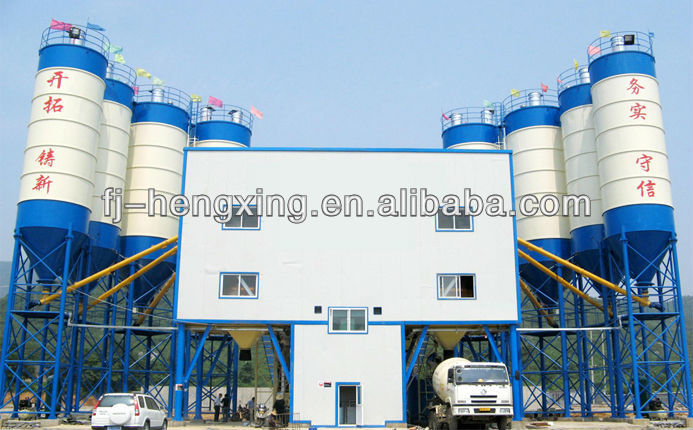 HZS Series Ready-Mixted Concrete Mixing Plant Machine,Self Loading Concrete Mixer