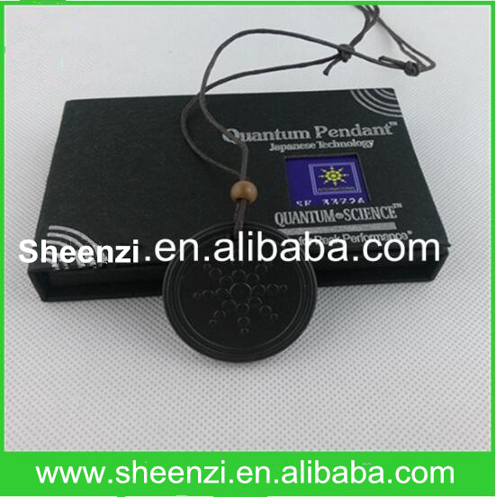 bio scalar energy pendant/quantum scalar energy pendant with sun flower design/energy pendant