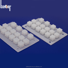 Customized Translucent Silicone Rubber Button Pad for LEDs
