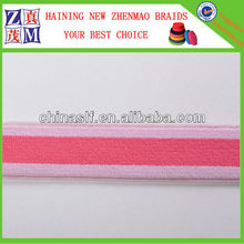 Nylon Elastic Colorful Webbing Tape For Garment Accessory