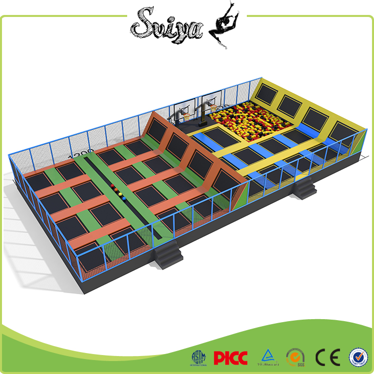 wenzhou high quality trampoline factory best selling adult bounce house
