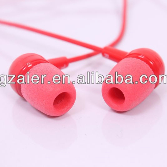 CE approval inert muffs for mobile phone in-ear earphone ear tips