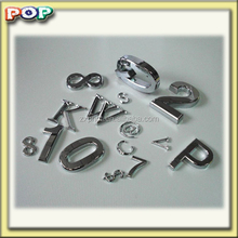 POP ABS number car emblems