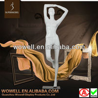 Realistic vivid pose female very young models doll