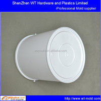 series volume PP chemical bucket plastic injection mold