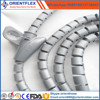 clear sleeve protective hose/spiral wrapping sleeve