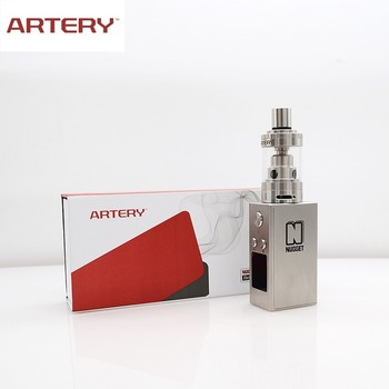 Artery 5-50w 18350 internal battery ss gold rush box mod vape kit