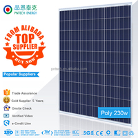 30V High-efficiency 230W polycrystalline solar panel