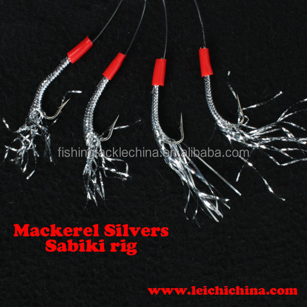 Mackerel Silvers Sabiki Fishing rigs