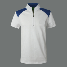 Zipper Collar Polo Shirt,Custom Polo Shirt For Men,Fake Polo Shirts