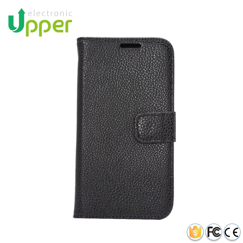Custom made phone cover ultra slim wallet pouch rock leather magnet flip case for htc one m7 pno7120 801e l22 m7
