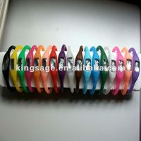 silicone rubber watch wrist band